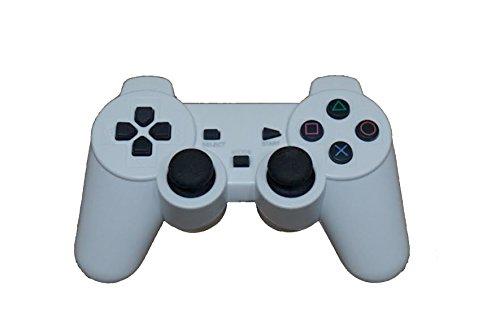 SHAPPYNES(シャピネス) 3way ワイヤレスコントローラー PS3 PC android アンドロイド スマホ 2.4ghz 無線 コントローラー ワイヤレス 白 SHP-005