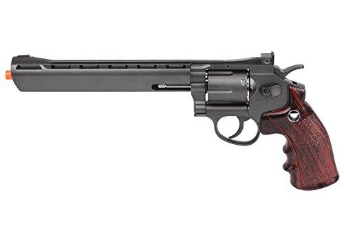 tsd sport 703 series co2 airsoft revolver, black airsoft gun(Airsoft Gun)