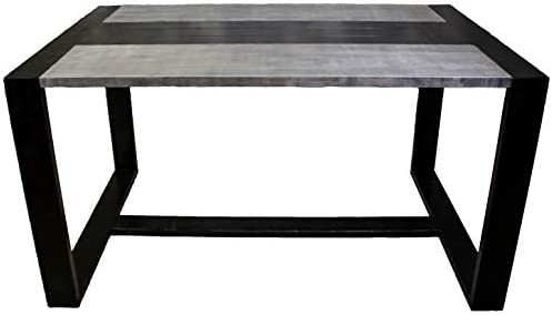 Mesa de Comedor Génesis Negra/Oscura L 1400 × P 900 × A 750 ...