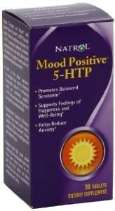 Natrol Mood Positive 5 Htp 50 Tab