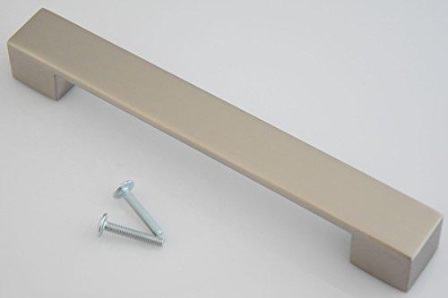 Küchengriff BA 160mm Möbelgriff edelstahloptik matt Schubladengriff Kommodengriff *626-07
