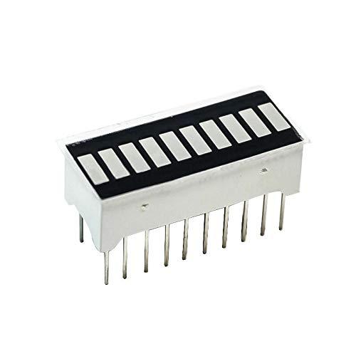 10pcs 10-Segment Red LED Bargraph Array Display Bright Bar Graph