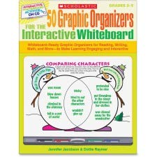 Scholastic 50 Graphic Organizers for the Interactive Whiteboard -