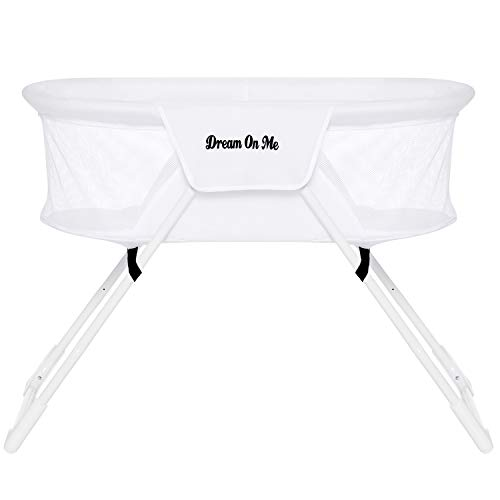 Best Review Of Dream On Me Mackenzie Bassinet in White