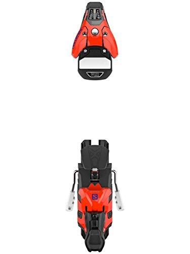 Ski Binding Din (Salomon STH2 WTR 13 Ski Binding Orange/Black, 100mm)