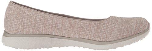 Skechers Des Femmes De Ma Chérie Microrafale Sneaker Tableau De Bord Couleur Taupe