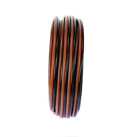 100 FT VOODOO 10 Gauge Speaker Wire Cable Car Home Audio AWG Black /& Red Zip Wire 12Volt Distributors