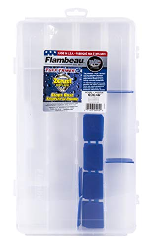 - Flambeau Outdoors Infinite Divider Systems Ids with 6 Compartments (Includes (6) Zerust Dividers)