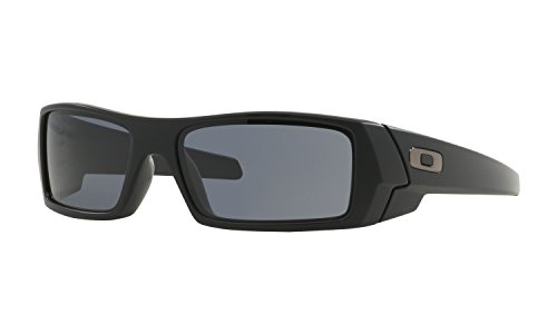 Oakley Gascan Sunglasses Matte Black with Grey Lens + - Gascan Sunglasses Oakley
