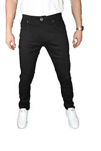 7db49fae6a Mens Skinny Jeans Slim Stretch FIT Slim FIT Trouser Pants Fashion Casual  (Black