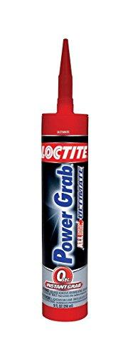 Henkel-Loctite 1989550 9 oz. Power Grab Ultimate Construction Adhesive, - Construction Grab Power Adhesive