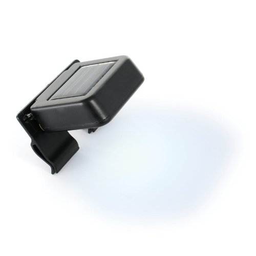 Homebrite WL-1 Solar Magic Wunder Mini Spotlight (On Lights Clip Powered Solar)