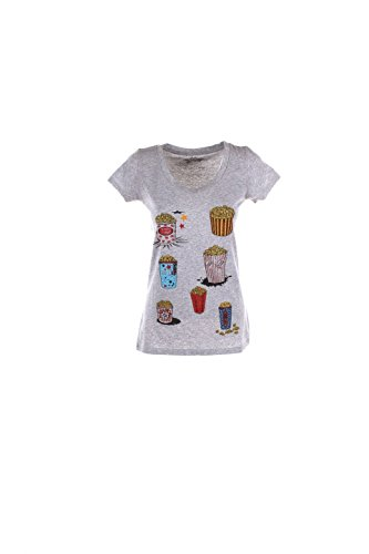 T-shirt Donna Kaos Twenty Easy M Grigio Gi3br019 Autunno Inverno 2016/17