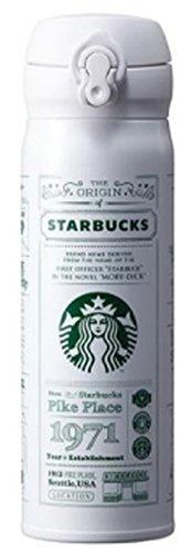 해외 한정 스타벅스 스토리 화이트 텀블러 보온 보냉 보틀 Starbucks JNL Story White Thermos 500ml [병행수입품] (화이트)