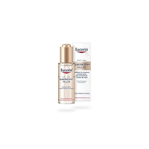 (Eucerin Elasticity + Filler Facial Oil for mature skin with with essential oils 30ml)