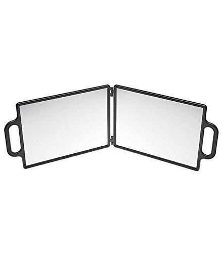 Specchio a Mano EFALOCK Twins Antracite, 1er Pack 4025341508790