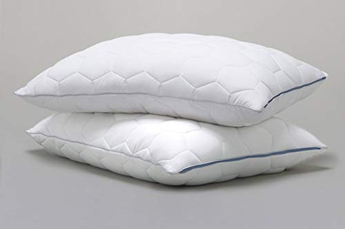 All of The Softness of Down Pillows with None of The Allergies Original Performance Down Alternative Back//Stomach Sleeper Pillow Bright White King SHEEX