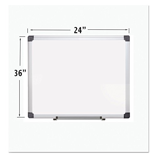 - Porcelain Value Dry Erase Board, 24 x 36, White, Aluminum Frame supplier
