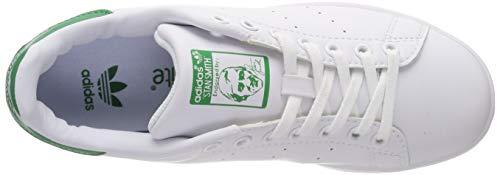 Smith Scarpa Sneaker White Bianca Stan Adidas Tennis Ginnastica white green Donna Basket xSqwfp