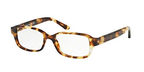 Tory Burch TY 2070 1150 Tokyo Tortoise Plastic Rectangle Eyeglasses - Eyeglass Burch Case Tory