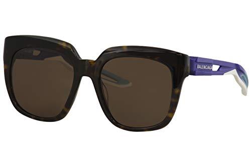 Sunglasses Balenciaga BB 0025 S- 002 HAVANA/BROWN BLUE