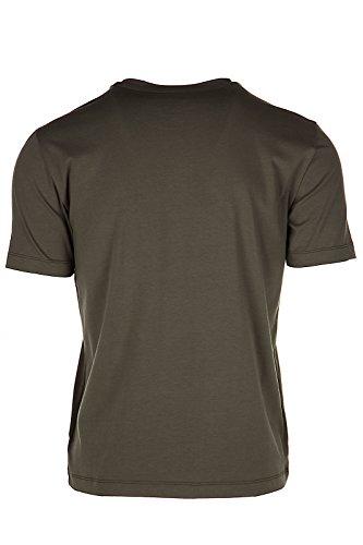Emporio Armani EA7 t-shirt maglia maniche corte girocollo uomo verde