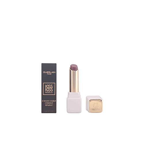 Guerlain Kisskiss Roselip Hydrating and Plumping Tinted Lip Balm, R374 Wonder Violette, 0.09 - Balm Tinted Butter