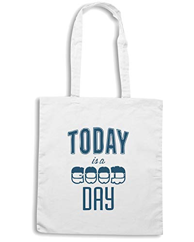 IS Shopper Shirt GOOD Speed A Bianca CIT0241 TODAY Borsa DAY Tq4HAxRU