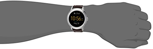 Fossil Q Founder Gen 2 Dark Brown Leather Touchscreen Smartwatch FTW2119 by Fossil (Image #3)
