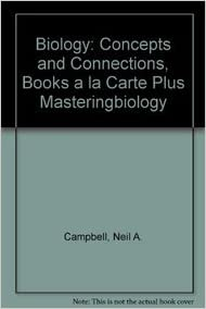 Amazon biology concepts and connections books a la carte biology concepts and connections books a la carte plus masteringbiology 6th edition fandeluxe Images