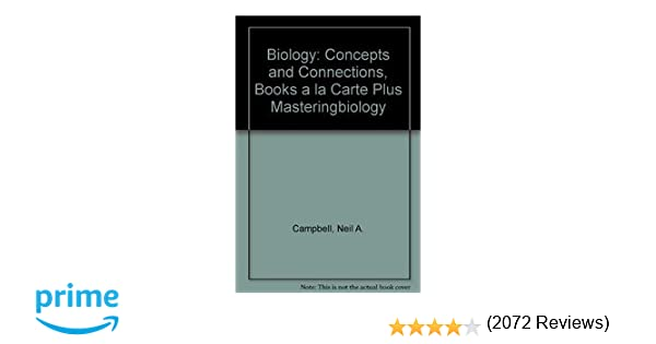 Amazon biology concepts and connections books a la carte amazon biology concepts and connections books a la carte plus masteringbiology 6th edition 9780321738813 neil a campbell jane b reece fandeluxe Images