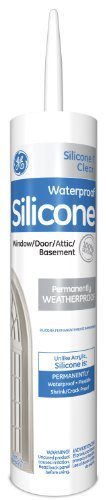 Momentive Performance Materials Ge012a Silicone I Window And Door Caulk With 10 1 Ounce Cartridge  Clear By Momentive Performance Materials