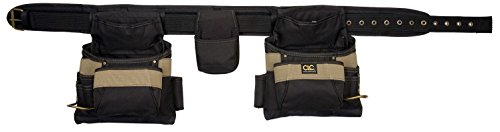 Price comparison product image CLC Work Gear 1604 17 Pocket Tool Belt Work Apron 4 Piece Set