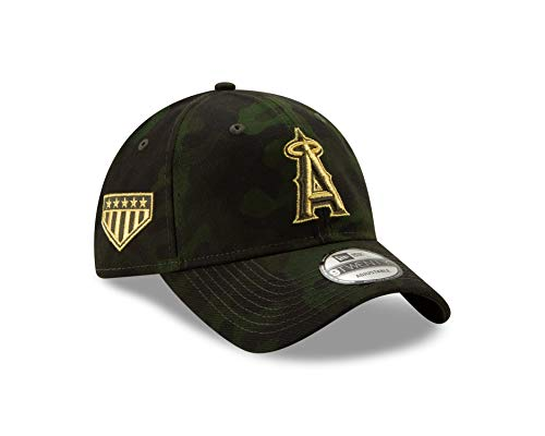 baa6e9b711213 Los Angeles Angels Camouflage Caps. New Era Los Angeles Angles 2019 MLB ...