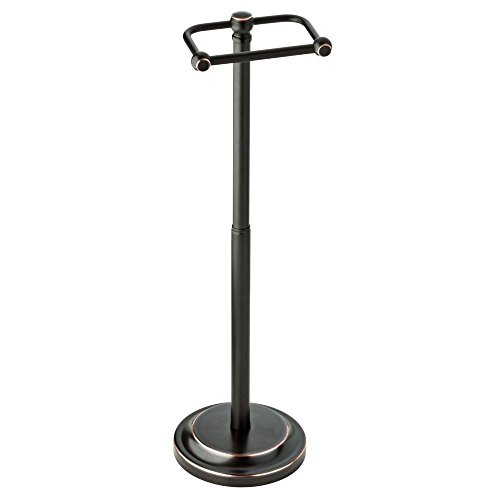 Elements Bronze Toilet Paper Holder (Delta Porter Telescoping Pivoting Free-Standing Toilet Paper Holder in Oil Rubbed Bronze)