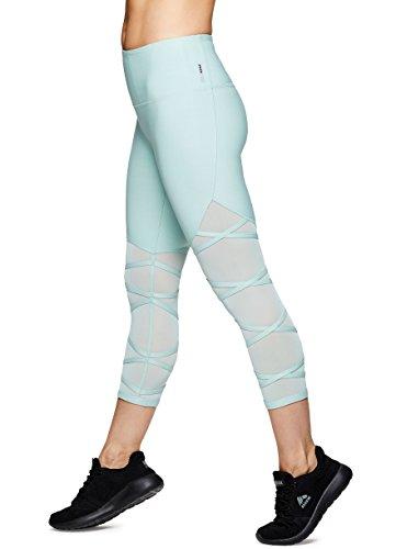 RBX Active Women's Running Athletic Yoga Workout Leggings Fall1 Aqua XL