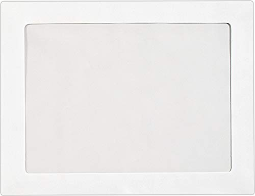 - 9 x 12 Full Face Window Envelopes - 28lb. Bright White (50 Qty.) | Perfect for Sending 8.5 x 11 Photos, Certificates, Invoices or Head Shots | Photo Envelopes | FFW-912-50