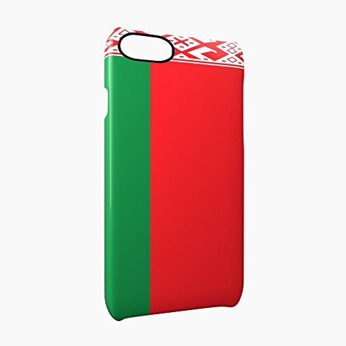 Flag of Belarus Glossy Hard Snap-On Protective iPhone 7 Plus + Case Cover