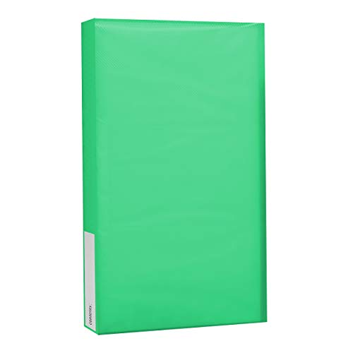 Pioneer Photo Albums CF-3 144-Pocket Poly Cover Space Saver Photo Album, Green
