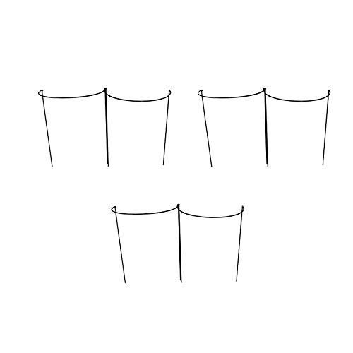 Selections Garden Hoop Plant Bow Support System 45cm x 60cm Pack of 6