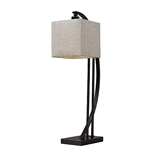 Dimond D150 Arched Metal Table Lamp, 1-Light 40 Watts, Madison Bronze