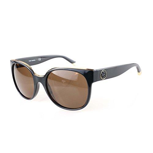 Tory Burch TY9042 Sunglasses 131273-56 - Black Frame, Brown ()