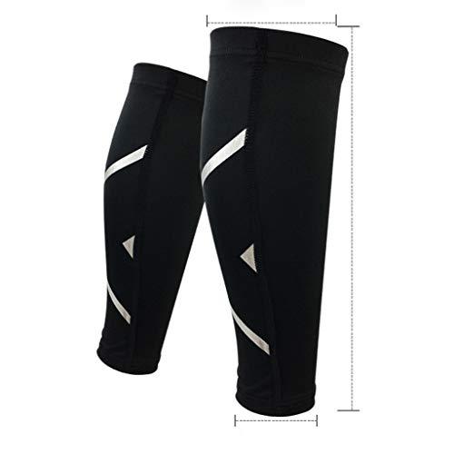 QQ1980s Calf Compression Sleeve-Leg Stripe Socks Support