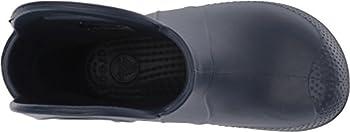 Crocs Unisex-kids Handle It Rain Boots, Navy, 1 M Us Little Kids 1