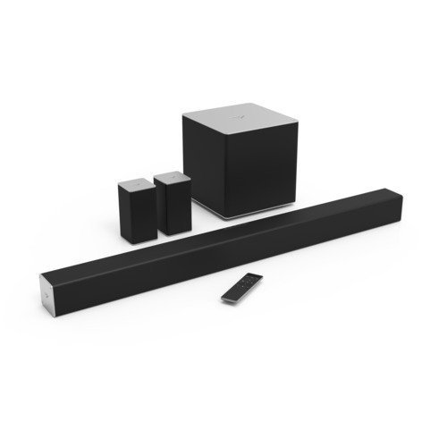 VIZIO SB4051-C0 40-Inch 5.1 Sound Bar System with Wireless Subwoofer & Rear Satellite Speakers (Renewed)