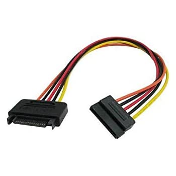 StarTech 12in 15 Pin SATA Power Extension Cable SATAPOWEXT12