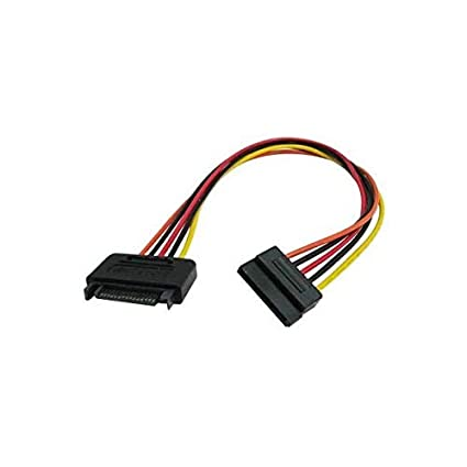 amazon com 15 pin sata power extension cable 8\
