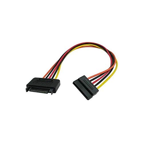 62a1fdc9a8 15 Pin SATA Power Extension Cable - 8 Micro SATA Cables FBA  P15PMWV15PF8IN  NAS-B002P6W9UG