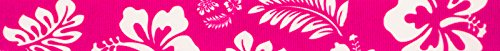 Country Brook Design 3/8 Inch Pink Hawaiian Grosgrain Ribbon, 10 Yards by Country Brook Design
