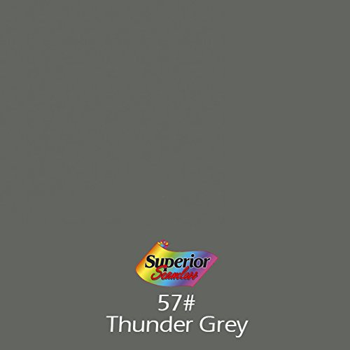 Superior Seamless Photography Background Paper, Photo Backdrop Paper 82-Inch Wide x 16.5' #57 Thunder Grey (108357) -